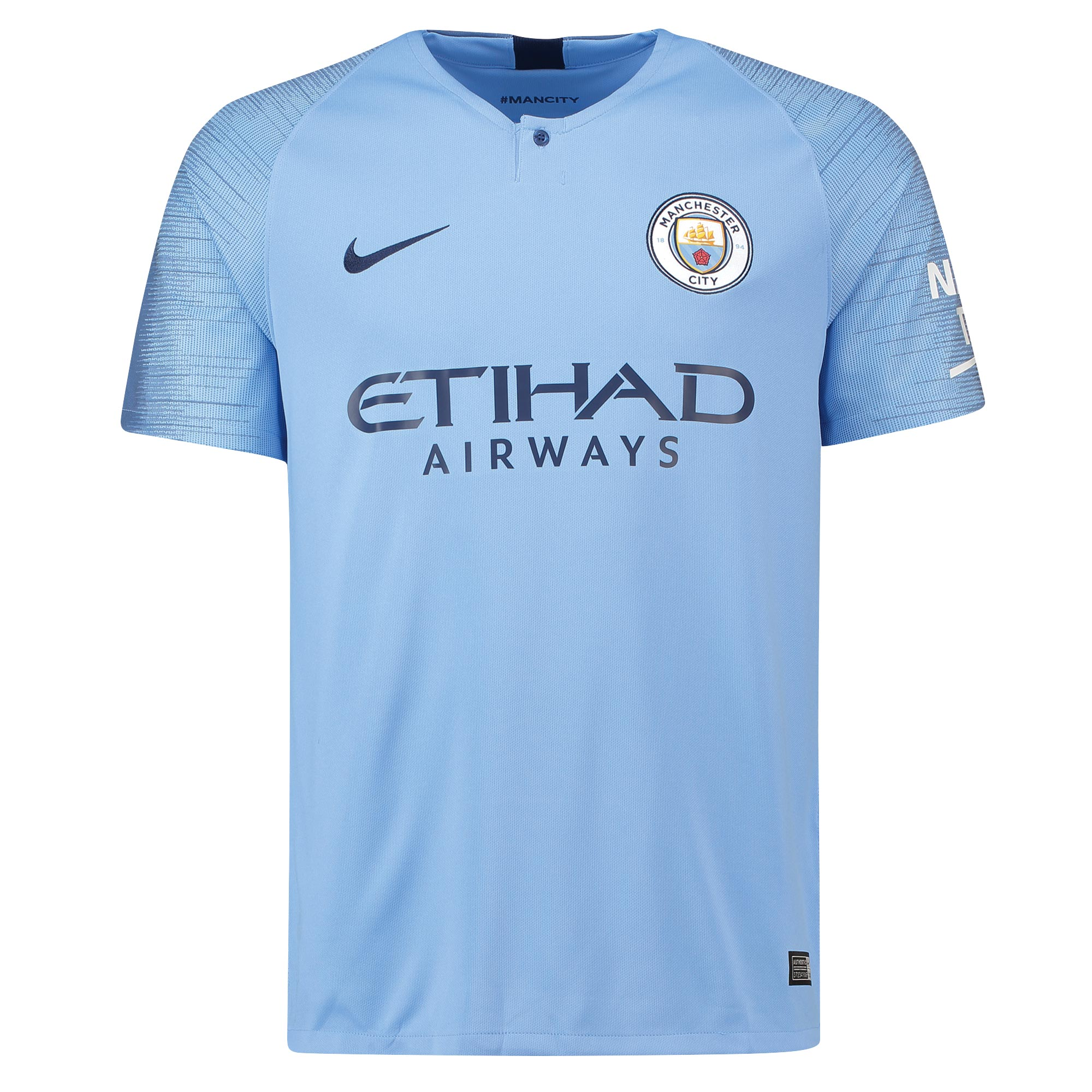 quality design 06a75 fd586 Manchester City Home Jersey 2018/2019