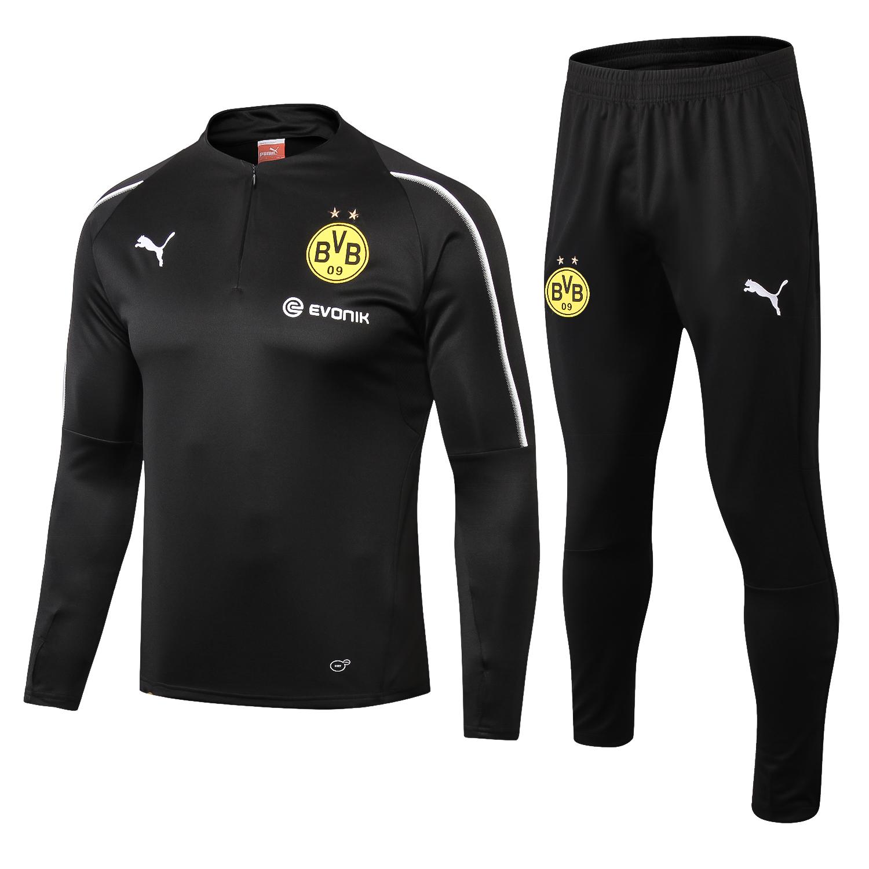 huge discount 9cf11 9cd29 Borussia Dortmund Training Suit 2018/2019 – Black