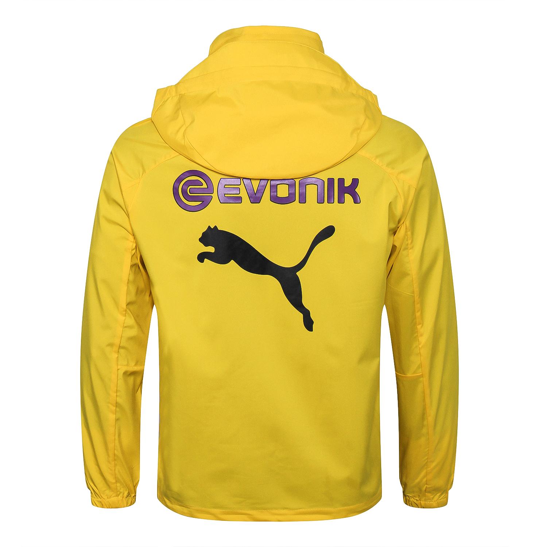 Borussia Dortmund Windbreaker 2018 2019 Yellow Sportswearspot
