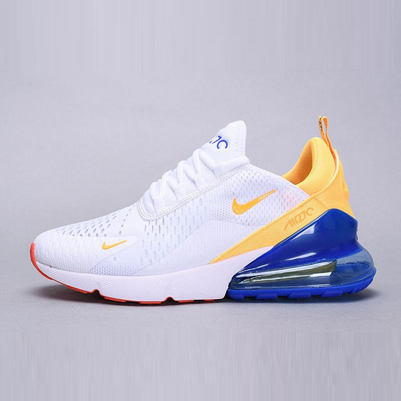 Rome Nike Air Max 1 Blue White Yellow Grey Shoes   Nike air