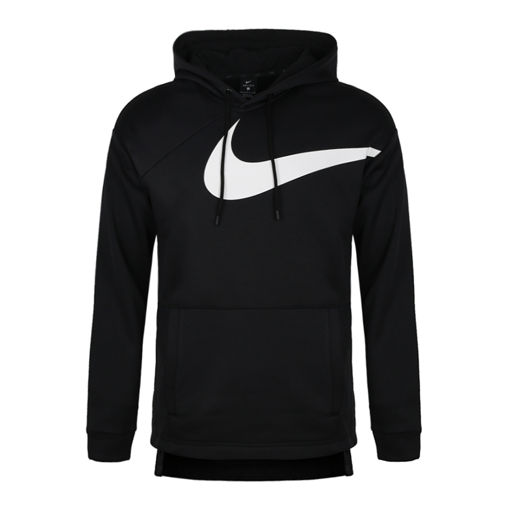 Nike Hoodie Men \u2013 Black (big white logo)