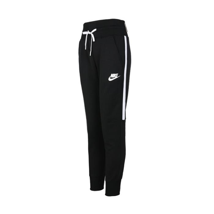 Nike Pants Women – Black (Side Stripe