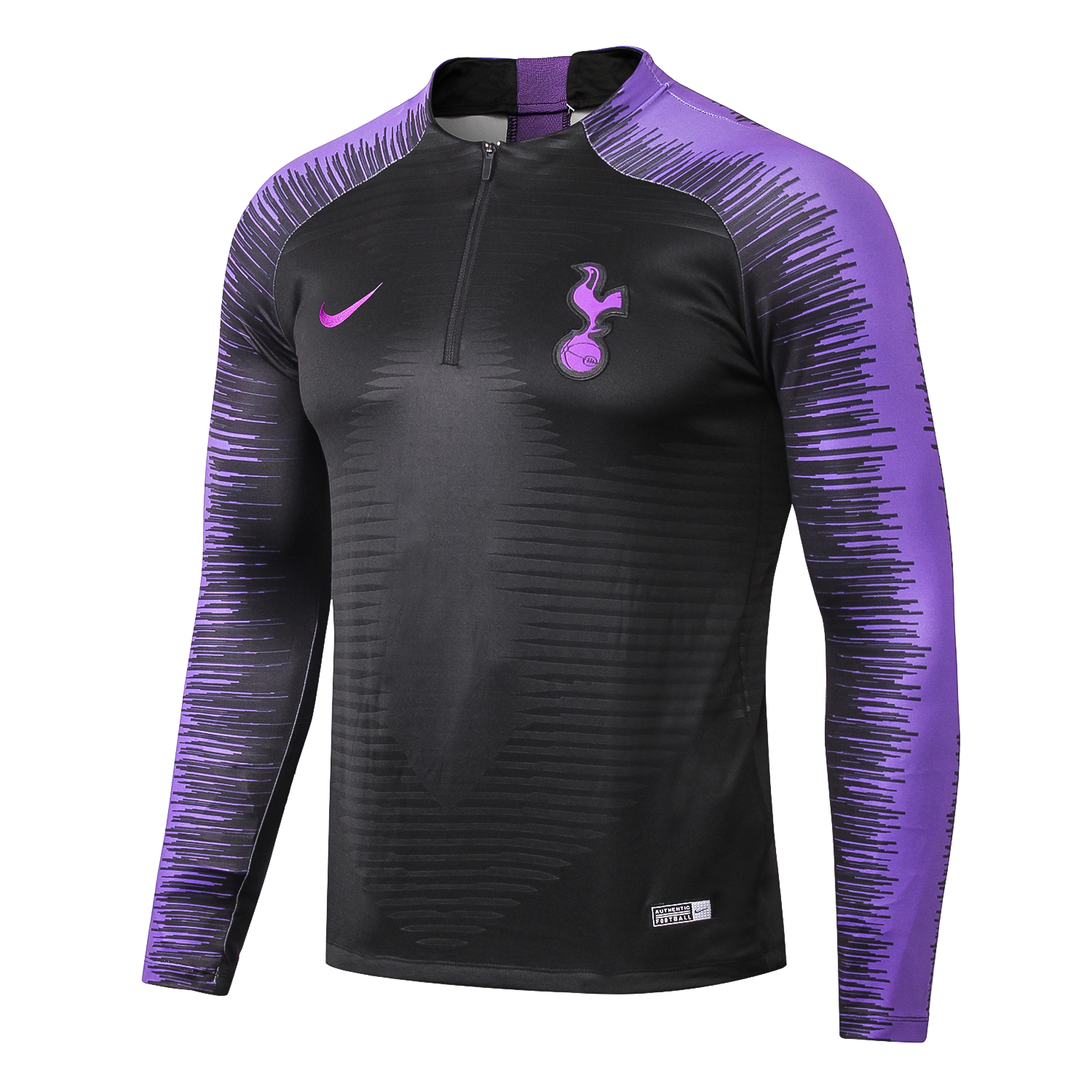 Tottenham Hotspur Training Top 2018 2019 Black Sportswearspot