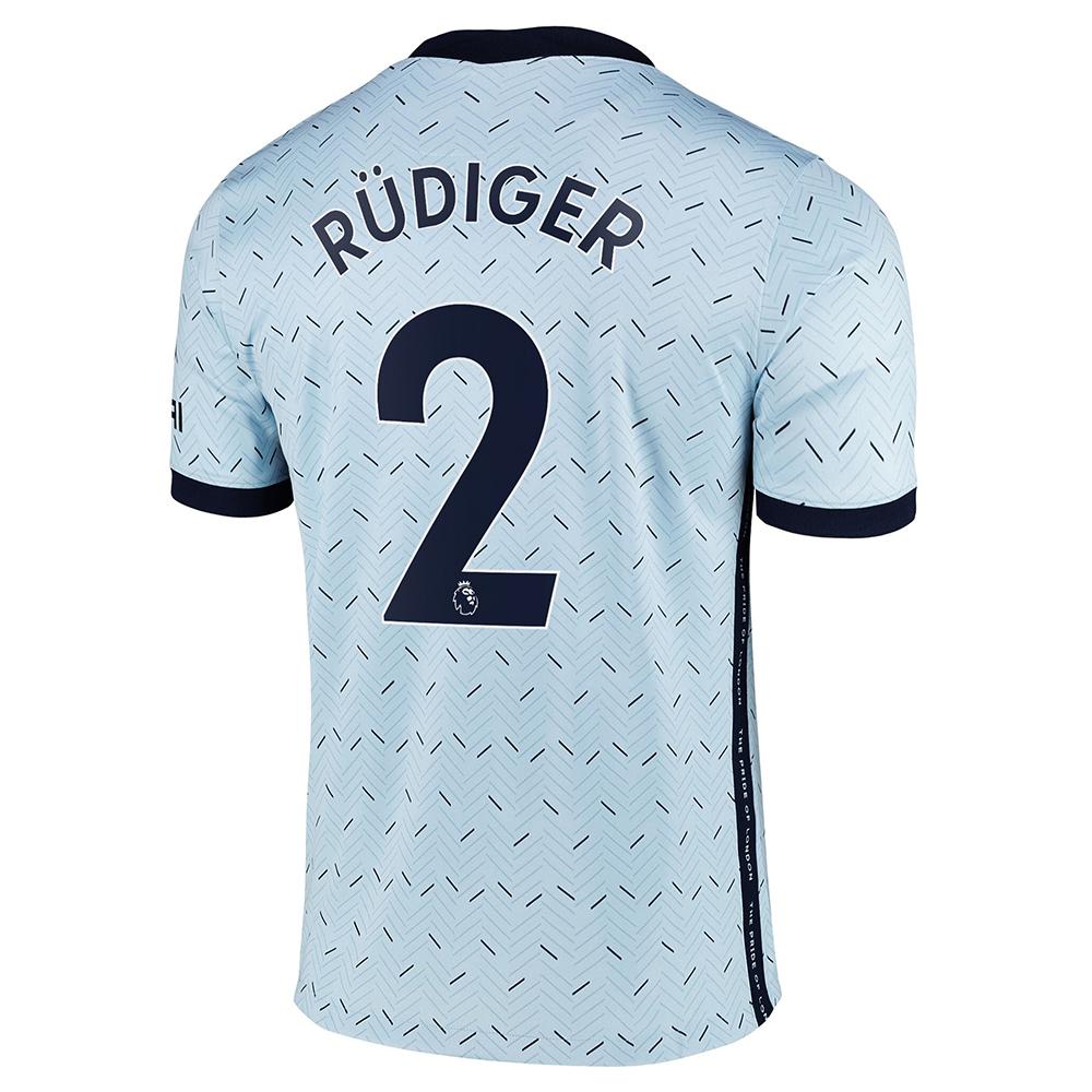 Chelsea Away Jersey 2020/2021 Rüdiger 2 Printing | SportsWearSpot
